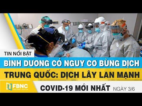 Tin tức Covid-19 mới nhất hôm nay 3/6 | Dich Virus Corona Việt Nam hôm nay | FBNC