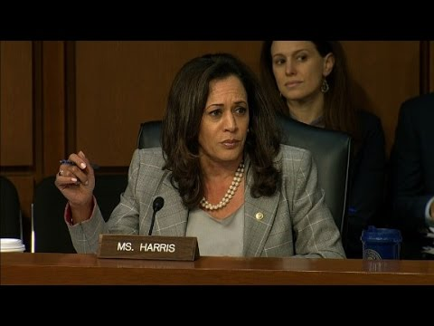 Sen. Harris cut off while questioning Sessions