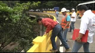 Gobernador inspecciona vía desde San Cristóbal hasta el municipio Seboruco
