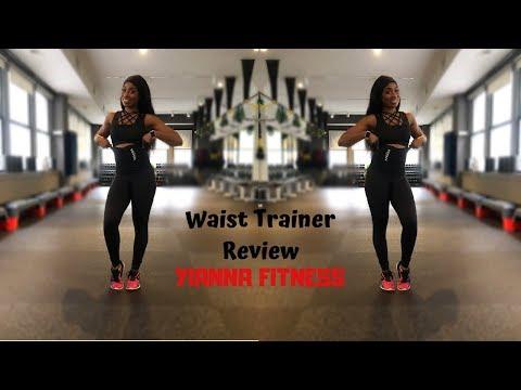 Yianna Fitness Waist Belt Review | Waist Training Exercises