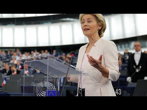 Live | EU Commission president nominee Ursula von der Leyen gives speech