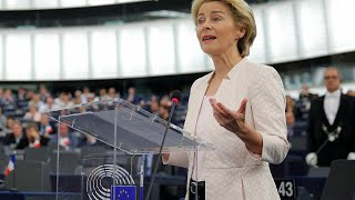 Live | EU Commission president nominee Ursula von der Leyen gives speech