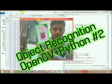 OpenCV Real Time Object Recognition In Any Background | How to write