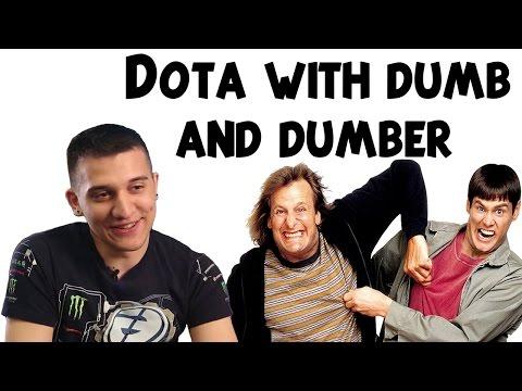 Dota 2: Arteezy - Dota with Dumb and Dumber