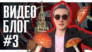 ВИДЕО БЛОГ #3 | Московский трип, срамота и мухоморы