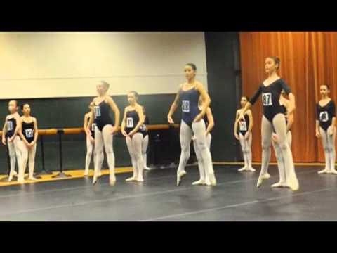 National Ballet of Canada audition tour in Ottawa