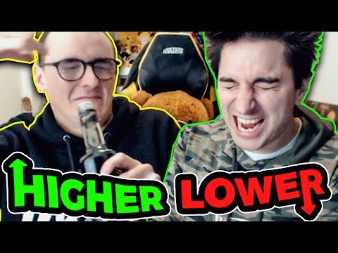 CHI SBAGLIA BEVE ACETO!! HIGHER AND LOWER CONTRO SURRY!