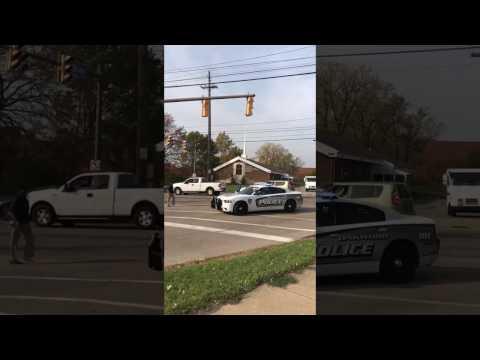 police car got stolen Cleveland