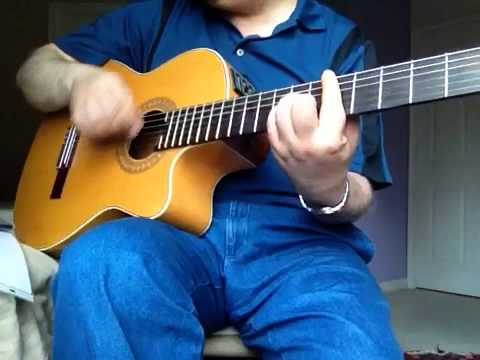 Zane Ziba Vigen Guitar Cover with lyricsویگن - زن زیبا
