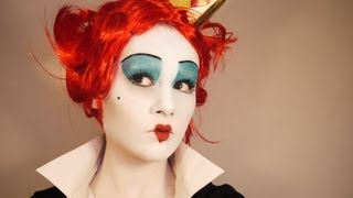 Red Queen Makeup Tutorial