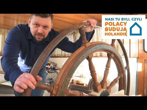 Barka mieszkalna w Amsterdamie - Nasi tu byli czyli Polacy budują Holandię / odc.4