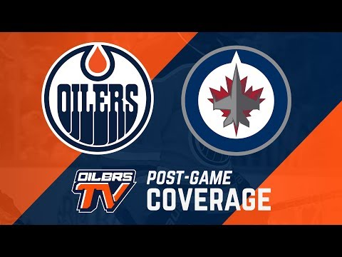 ARCHIVE | Post-Game Coverage - Oilers vs. Jets
