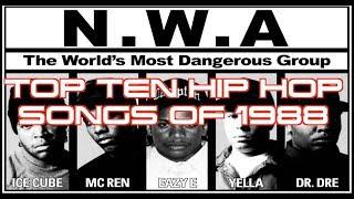 TOP TEN HIP HOP SONGS OF 1988