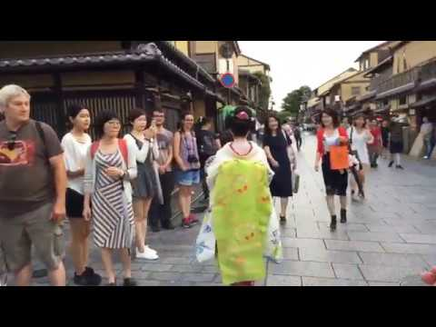 Ep. 3 #Geishaspotting: In Search Of Geisha In The Gion District Of #Kyoto, #Japan