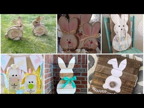 DIY Wooden Decorations for Easter 2018 New Style of Easter Decorations