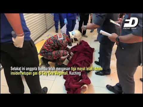 Terkini - 3 Maut Dalam Insiden Di City One Megamall Kuching
