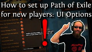 Path of Exile f๐r new players: Important UI Options!