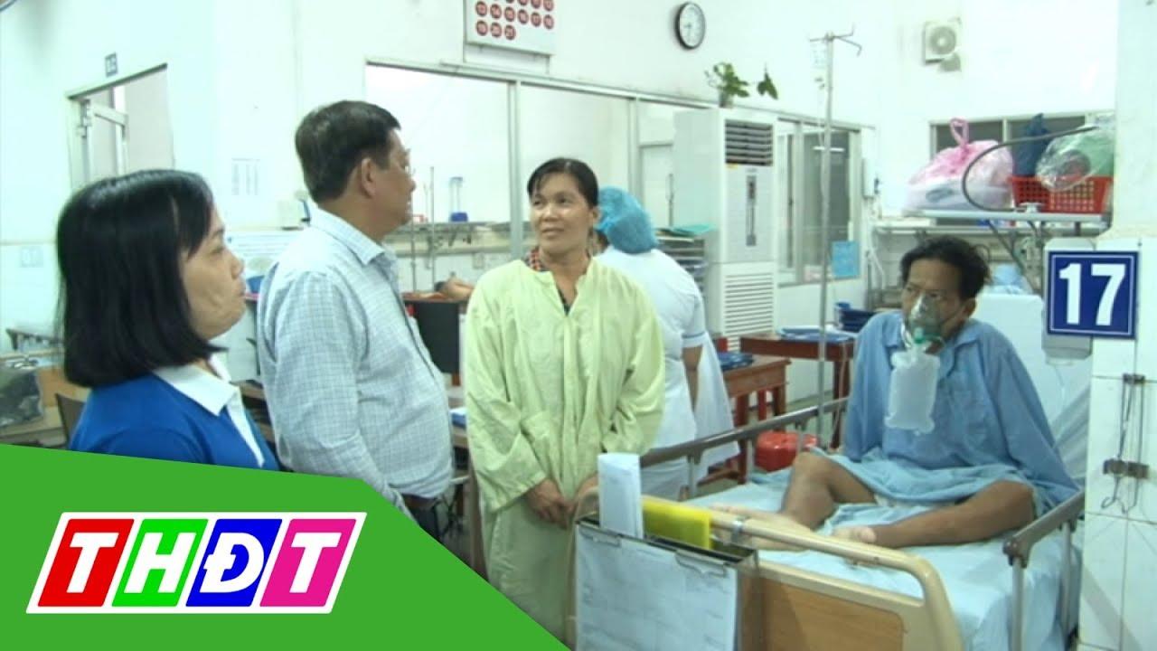 Ban Giám đốc Bệnh viện Đa khoa Đồng Tháp chúc Tết bệnh nhân | THDT