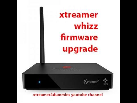 Xtreamer Whizz Firmware Upgrade