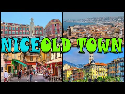 NICE OLD TOWN - Vieille Ville - France (4K)