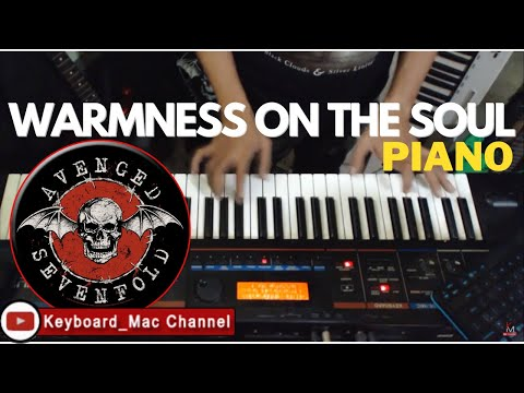 Avenged Sevenfold - Warmness on the Soul piano instrumental (Keyboard Mac)
