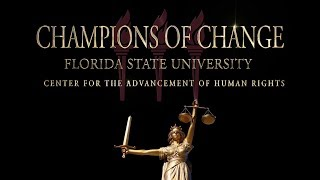 Champions of Change - FSU Combats Human Trafficking
