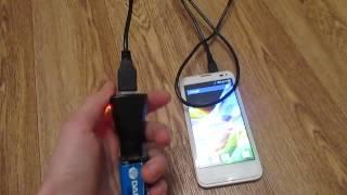 Самодельная портативная зарядка для телефона!