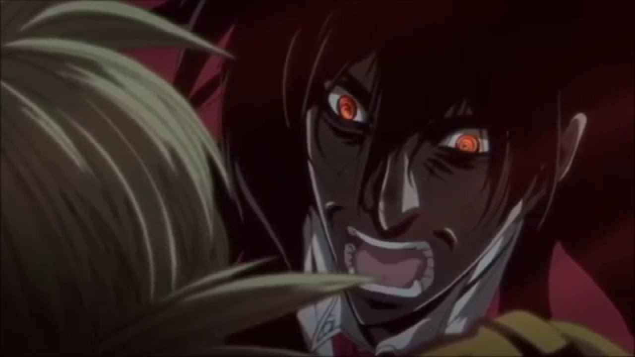 Hellsing Ultimate - Alucard In 4 Languages - YouTube