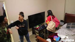 ABUSIVE BOYFRIEND PRANK ON GIRLFRIEND SISTER!!! CRAZY