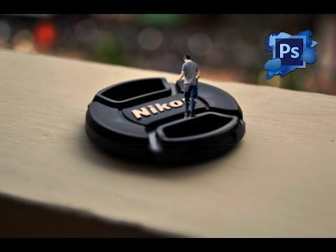 Photoshop Tutorial: Miniature Self Portrait (INA)
