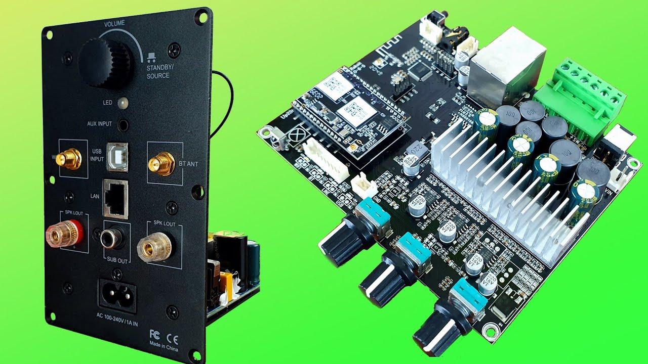 AMPLIFICADOR Estéreo INALÁMBRICO   Sistemas de audio WIFI para el hogar