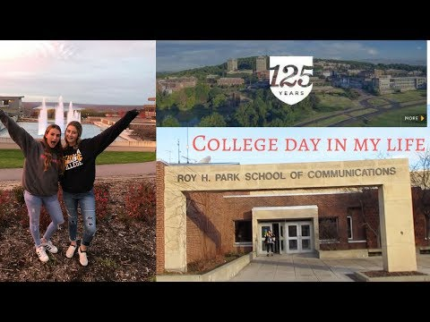 DAY IN THE LIFE ITHACA COLLEGE// PART 1