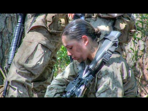 Female Marine Recruits Training