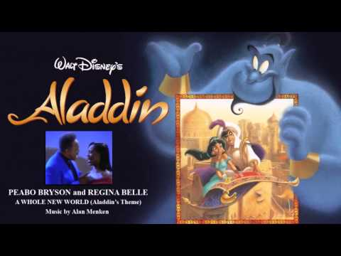 Peabo Bryson & Regina Belle - A Whole New World (Aladdin's Theme By Alan Menken) - Instrumental