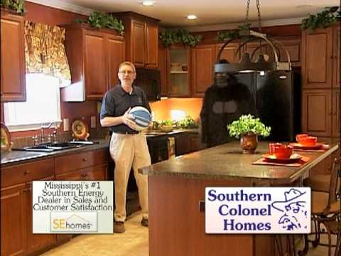 Whlt southern colonel homes big dog youtube for Colonel homes
