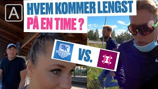 Hvem kommer lengst på 60 minutter? Harm & Hegseth VS Spårtsklubben!