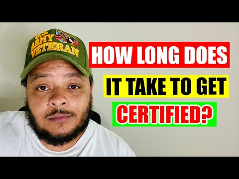 How Long Does It Take Get an IT Certification?