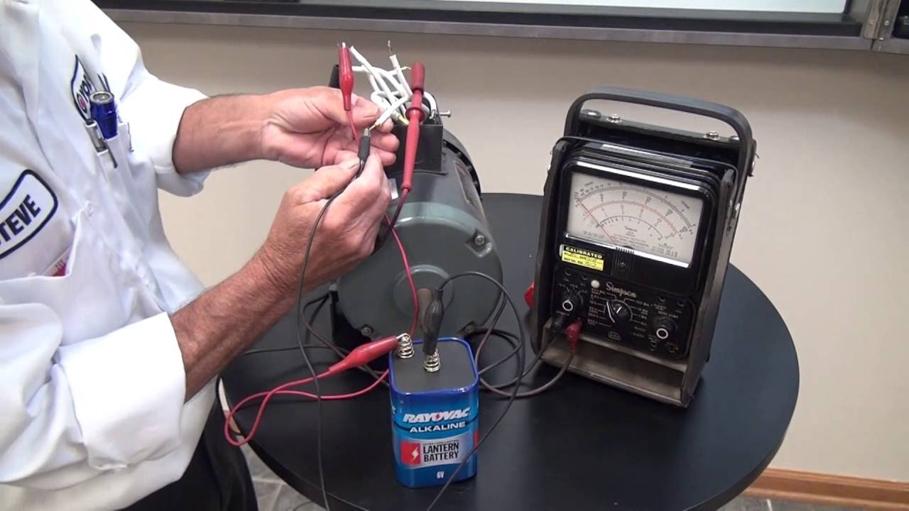 identifying unmarked 9 lead motors wye connection york repair inc youtube [ 1280 x 720 Pixel ]