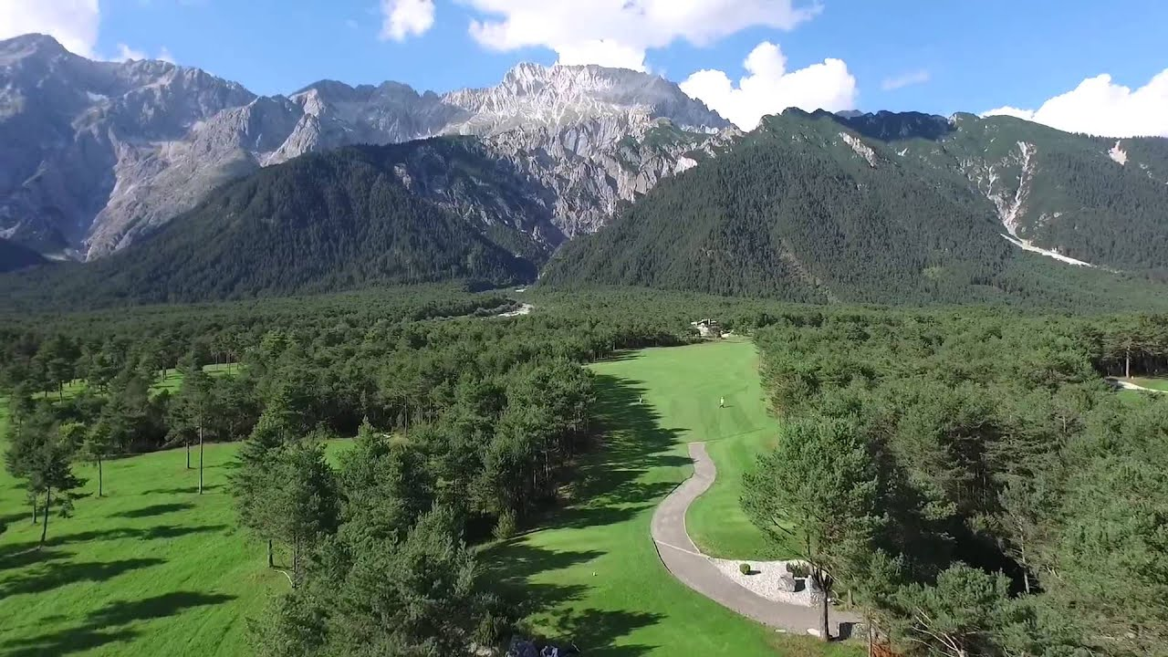Golfpark Mieming Golfpark Mieminger Plateau Hd Youtube
