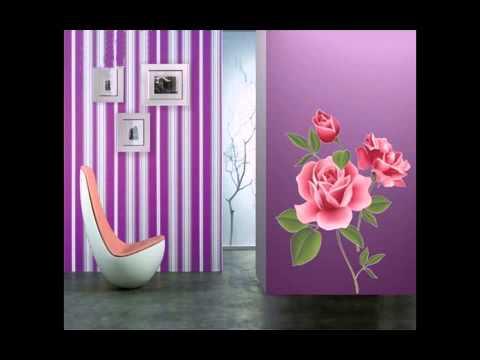 Декоративные наклейки для интерьера: где купить, как использовать, примеры использования. Виниловые наклейки сделаны по тому же принципу.