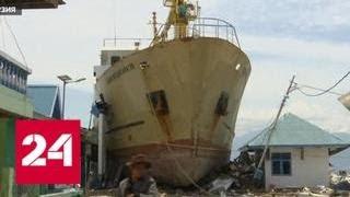 Смотреть видео Трагедия на Сулавеси: миллионы долларов пущены на ветер - Россия 24 онлайн