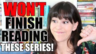 Popular Book Series I Won't Finish Reading || Books with Emily Fox