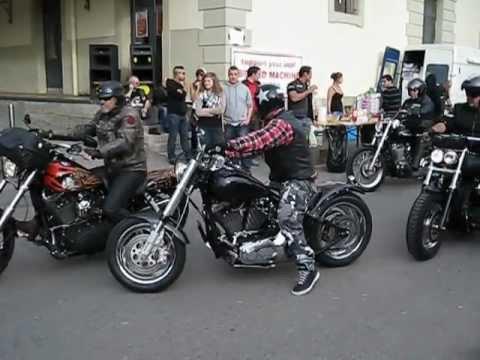Hells Angels MC Toy Run 2012 in Lausanne, Switzerland