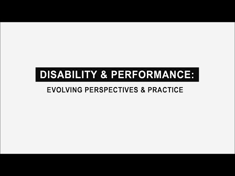 Disability and Performance: DisArt Symposium 2017 @ Brooklyn College CUNY