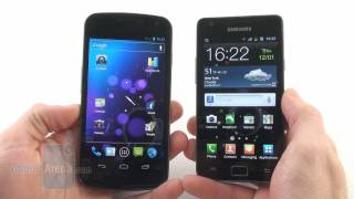 Samsung Galaxy Nexus vs Samsung Galaxy S II
