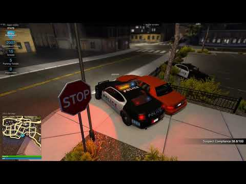 The Adventures Of Officer Friendly And Friends | Flashing Lights Game