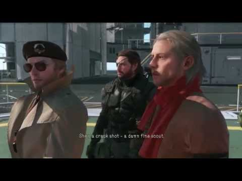 MGSV: The Phantom Pain Quiet Shoots Ocelot