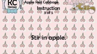 Apple Red Cabbage - Kitchen Cat