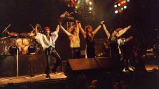Bon Jovi -live livin on a prayer 1986 Stockholm, Sweden