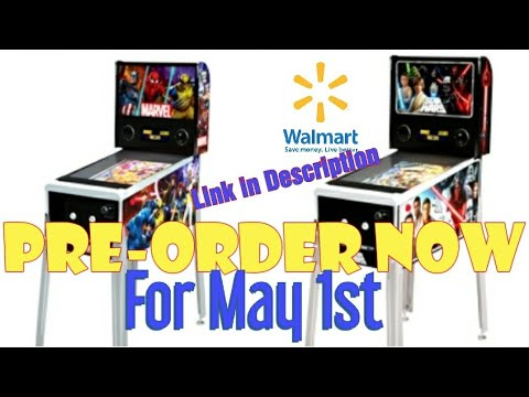 Arcade1up Marvel and StarWars pre-orders back up at Walmart for May 1st shipping from Jester Tester